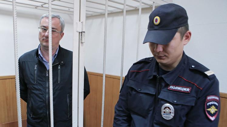 محكمة روسية تقرر حبس رئيس إقليم روسي بعد اتهامه بتشكيل عصابة إجرامية