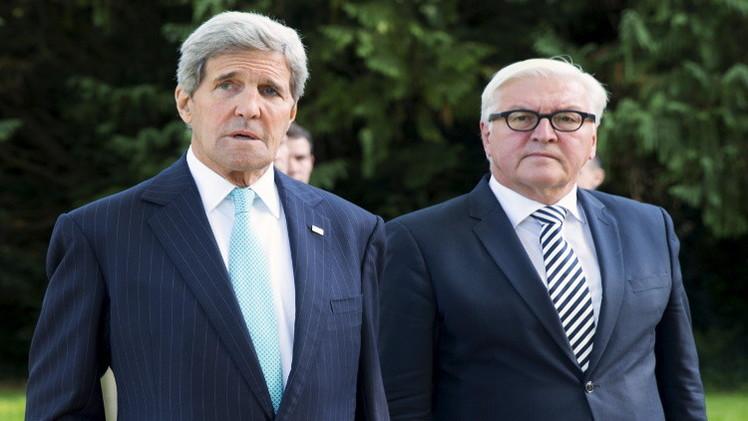 كيري: الحل السياسي هو السبيل الوحيد لتسوية الأزمة السورية