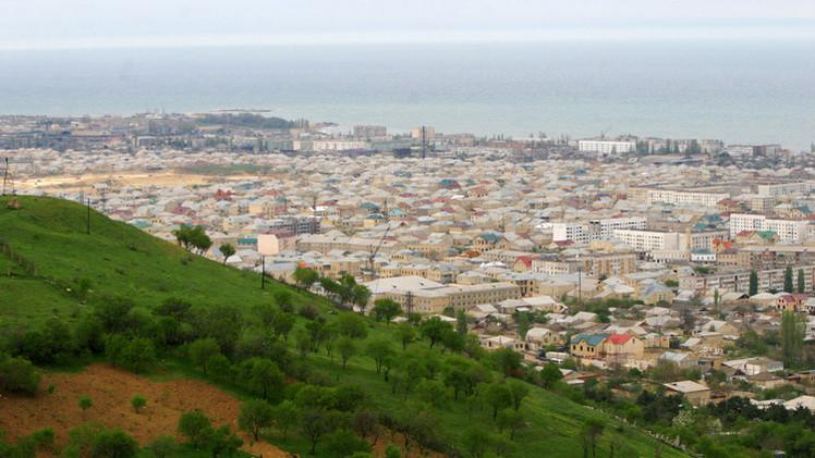 منظر مدينة دربند من الجبل