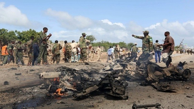 الصومال.. مقتل 5 أشخاص بتفجير قرب قصر الرئاسة في مقديشو