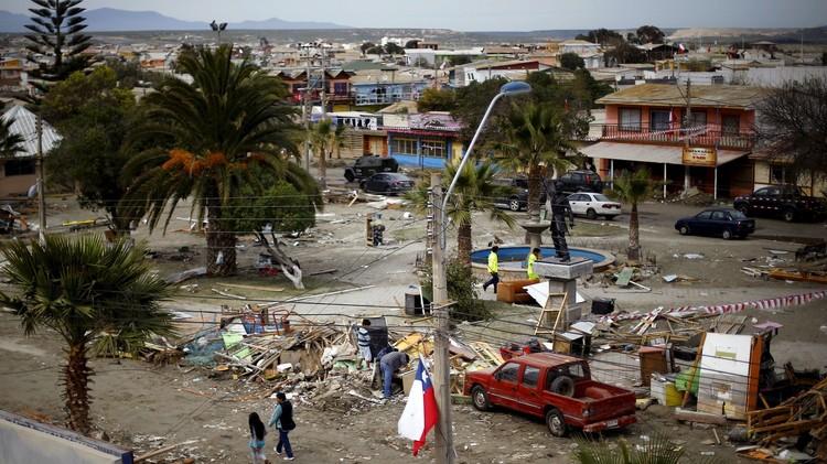 زلزال بقوة 6,5 درجات يضرب سواحل تشيلي