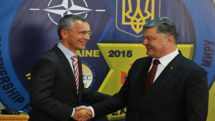 الناتو يعلن استعداده لبحث إعادة بناء القوات البحرية الأوكرانية