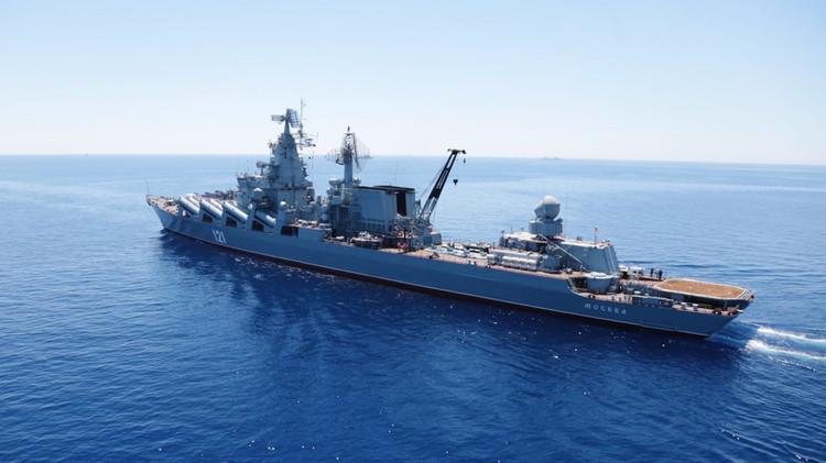 4 سفن حربية روسية تبدأ مناورات في شرق المتوسط