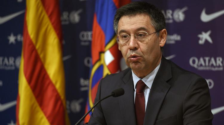 بارتوميو: برشلونة لن يشارك في الحملة الانتخابية لاستقلال كتالونيا
