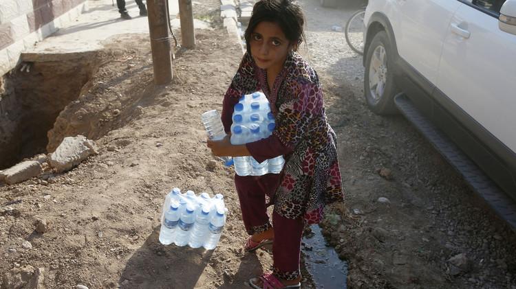 العراق.. وباء الكوليرا يؤجل إنطلاق العام الدراسي