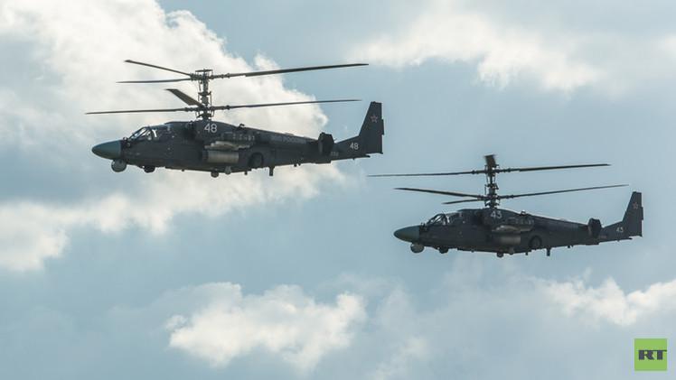 مصر تشتري مروحية حربية روسيا طراز كا-52 تمساح