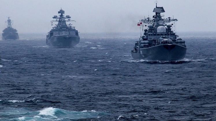 وزارة الدفاع الروسية: سفن حربية روسية ستجري تدريبات شرق المتوسط