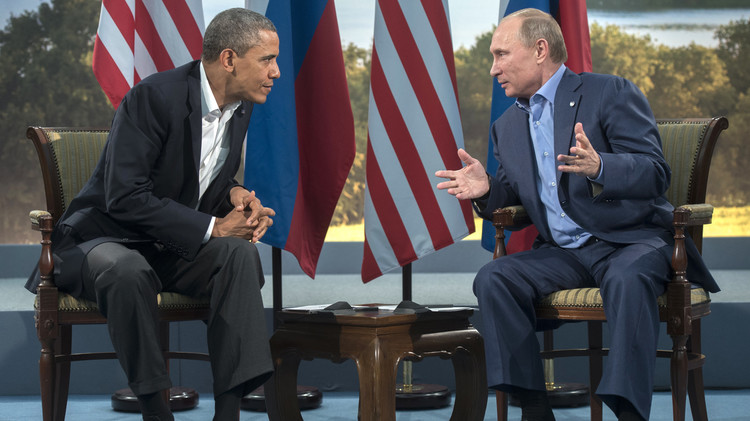 حل الأزمة السورية محور لقاء بوتين بأوباما