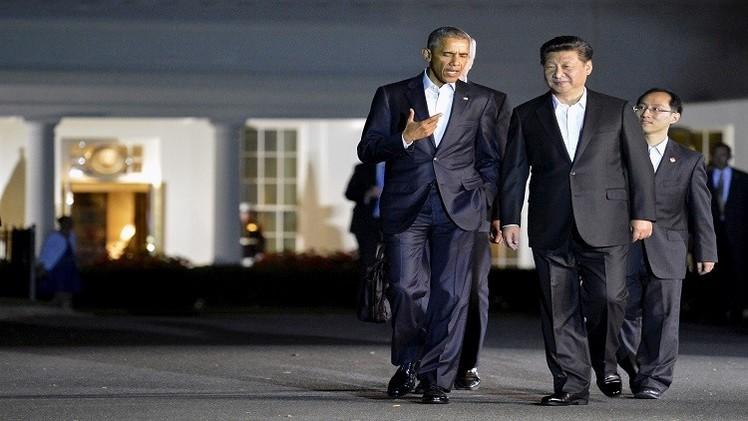 الرئيس الصيني يصل إلى واشنطن في أول زيارة رسمية للولايات المتحدة