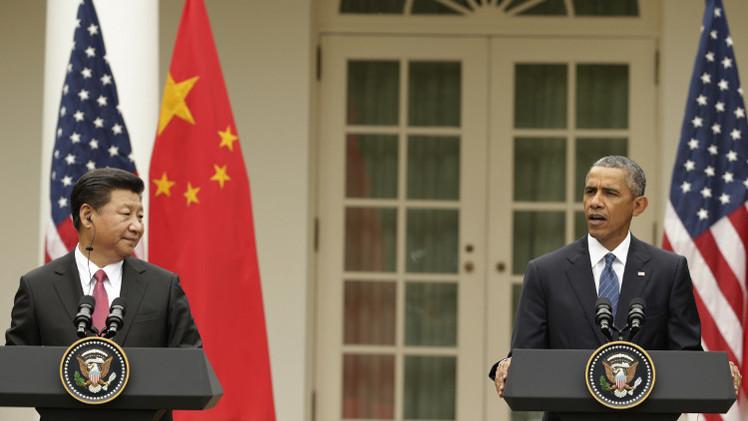 الرئيس الصيني يؤكد في واشنطن تمسك بلاده بالسلام.. وصون مصالحها السيادية