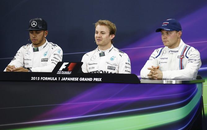 روزبرغ أول المنطلقين في سباق جائزة اليابان الكبرى