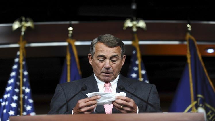 استقالة رئيس مجلس النواب الأمريكي بسبب انقسام في الحزب الجمهوري