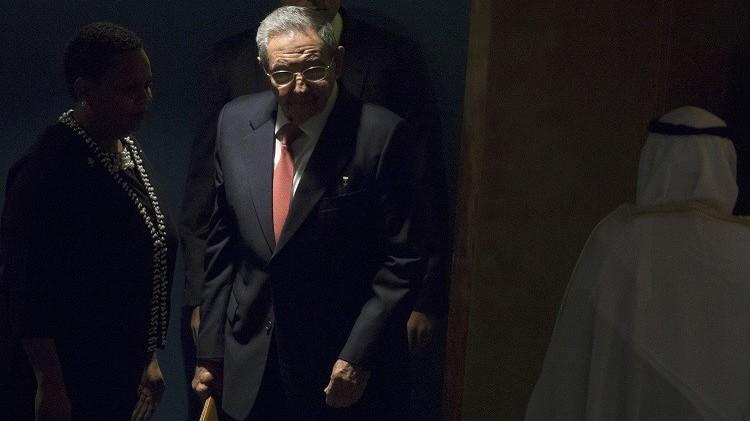 راؤول كاسترو يطالب برفع الحصار الأمريكي عن كوبا
