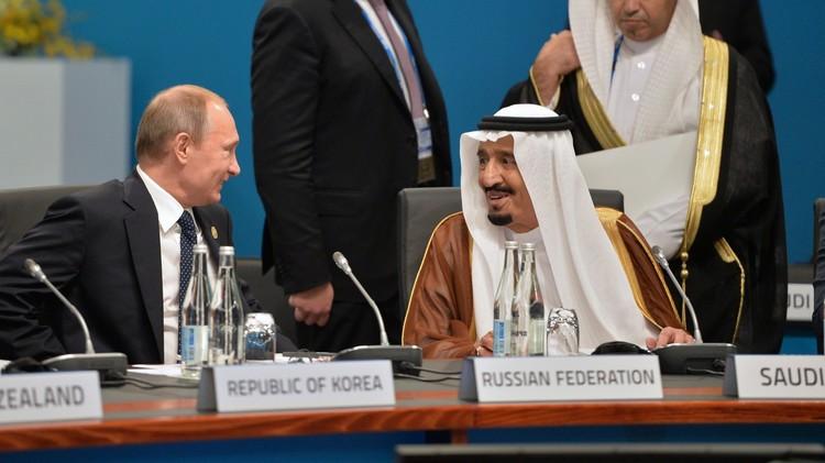 الكرملين: بوتين يناقش هاتفيا مع العاهل السعودي تسوية الأزمة السورية