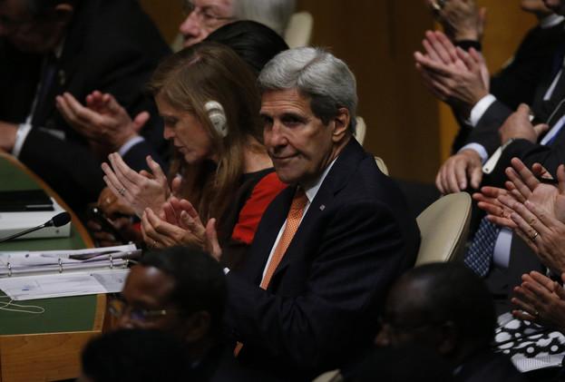 كيري يبحث مع نظرائه من 6 دول الأزمة السورية وتحركات روسيا