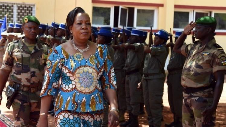 رئيسة إفريقيا الوسطى تغادر نيويورك بسبب الانفلات الأمني في بانغي