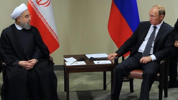 بوتين وروحاني راضيان عن التعاون في مجالات مختلفة