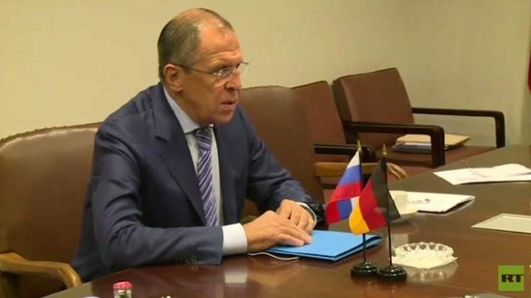 لافروف يناقش مع وزراء خارجية الدول دائمة العضوية وبان كي مون الوضع في سوريا