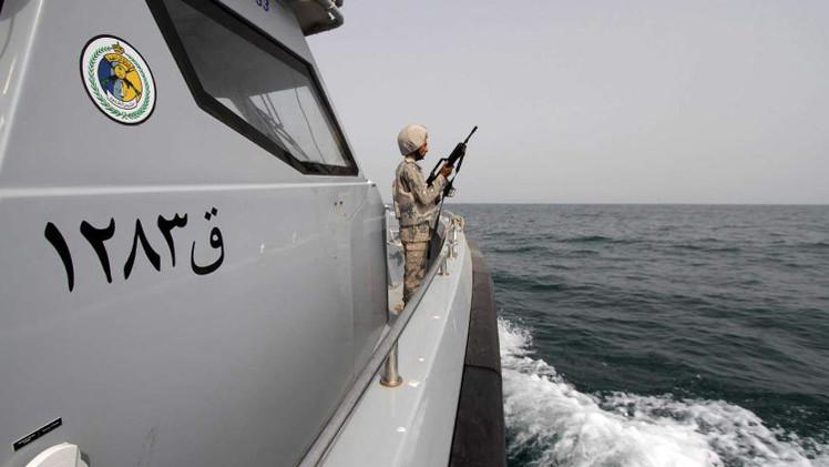 التحالف العربي: ضبط زورق إيراني محمل بالأسلحة في طريقه إلى اليمن