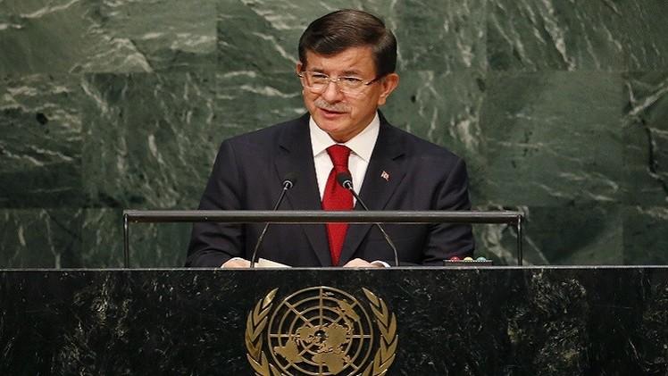 داوود أوغلو: أزمة اللاجئين السوريين لم تعد تحتمل ويجب الوصول إلى حل