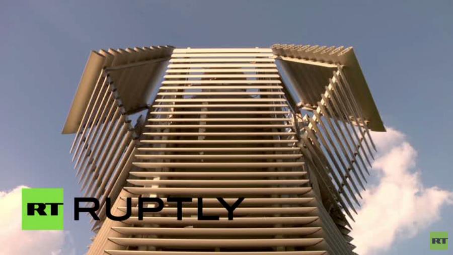 أكبر مصفاة للهواء في العالم تعمل في روتردام (فيديو)