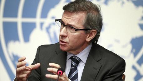 مبعوث الأمم المتحدة إلى ليبيا برناردينو ليون (صورة أرشيفية)