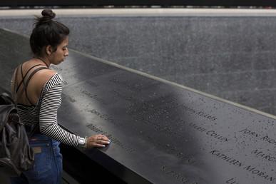 النصب التذكاري لضحايا هجمات 11 سبتمبر في نيويورك
