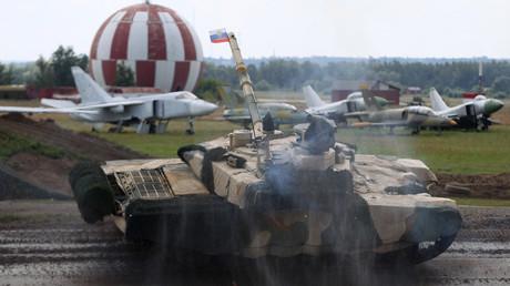 دبابة تي-90 ام اس