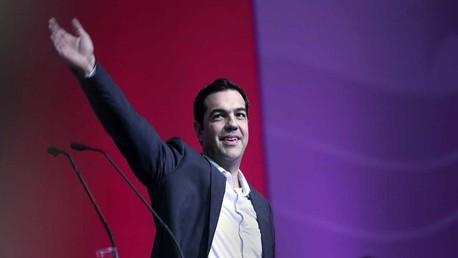 أليكسيس تسيبراس زعيم حزب سيريزا اليساري