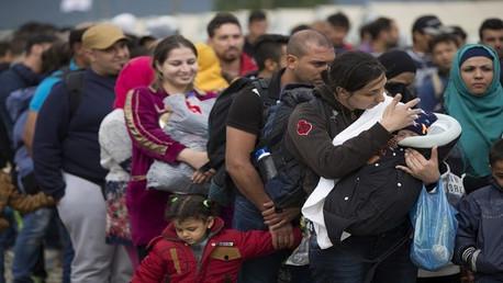 مهاجرون إلى أوروبا (صورة أرشيفية)