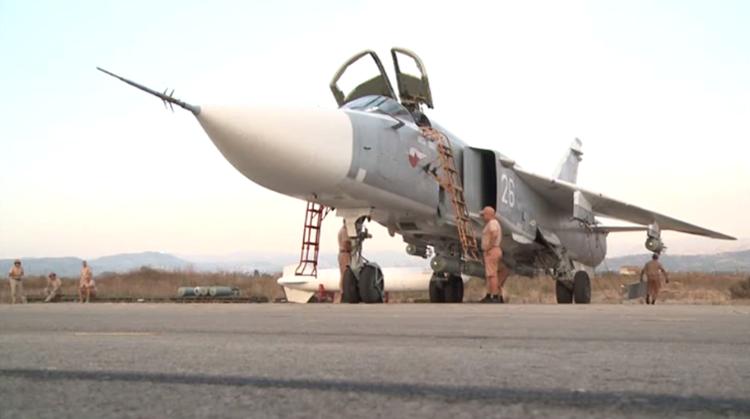 شاهد لأول مرة القاعدة الجوية الروسية في اللاذقية .. (فيديو)