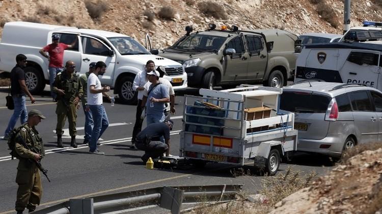 مقتل مستوطنين اثنين بإطلاق نار جنوب نابلس