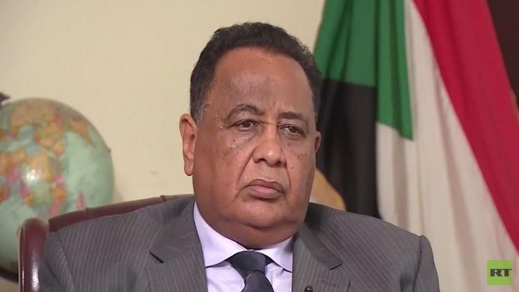 وزير خارجية السودان إبراهيم الغندور
