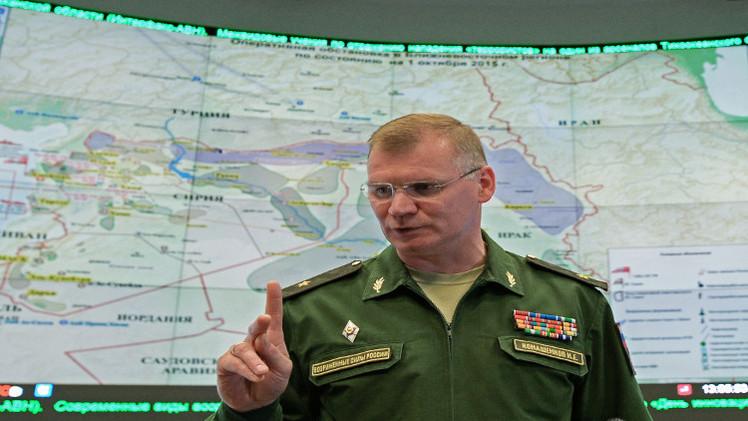 المقاتلات الروسية تدمر قاعدة وورشة متفجرات ونقطة سيطرة لـ