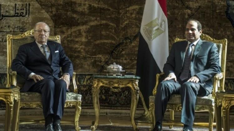 السيسي والسبسي يدعوان الأطراف الليبية إلى قبول اتفاق السلام