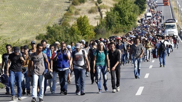 وقف الحرب مفتاح حل أزمة اللاجئين السوريين