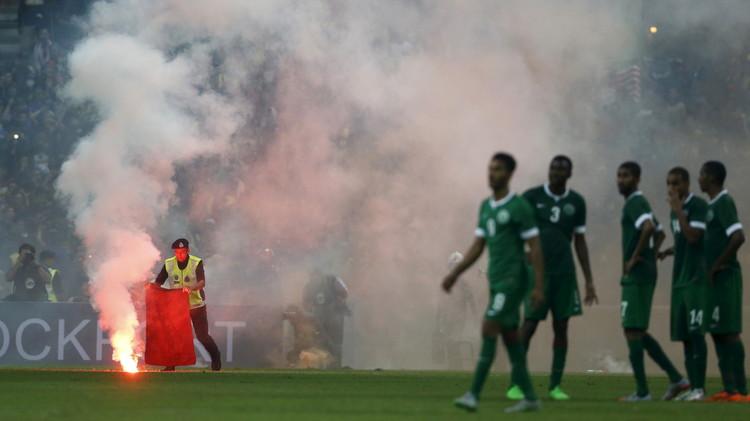الفيفا يعتبر الأخضر السعودي فائزا على ماليزيا (3-0)