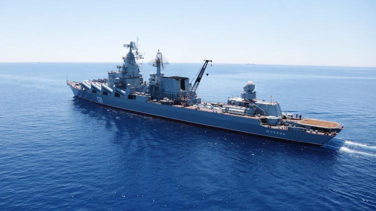 سفن روسية تطلق صواريخ مضادة للجو خلال مناوراتبالبحر الأبيض المتوسط