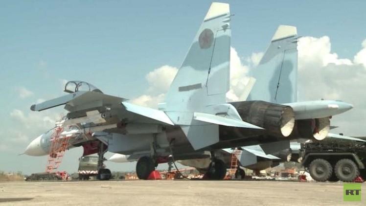 المقاتلات الروسية نفذت 15 طلعة مستهدفة 10 مواقع للإرهابيين في سوريا
