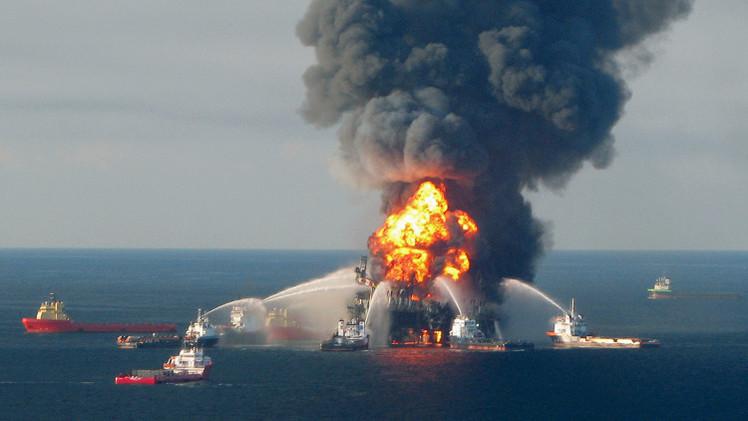 تسرب النفط في خليج المكسيك يكبد