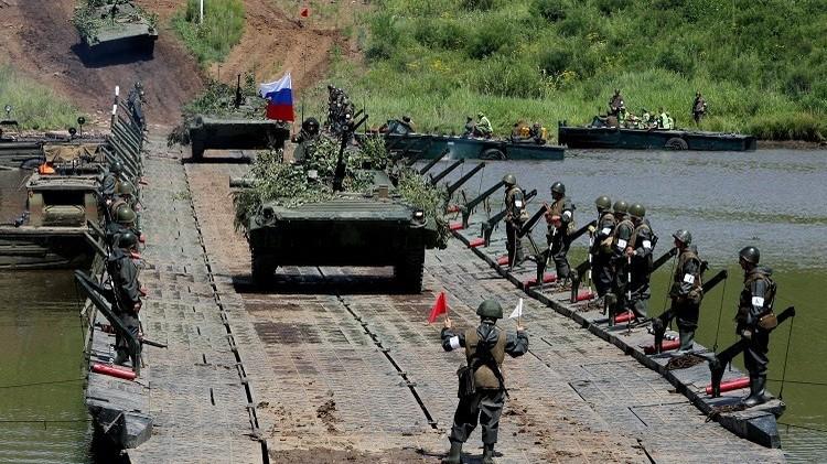 مناورات عسكرية في أقصى الشرق الروسي