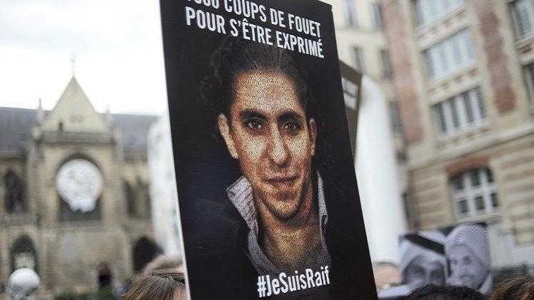 المدون السعودي السجين رائف البدوي يحصل على جائزة