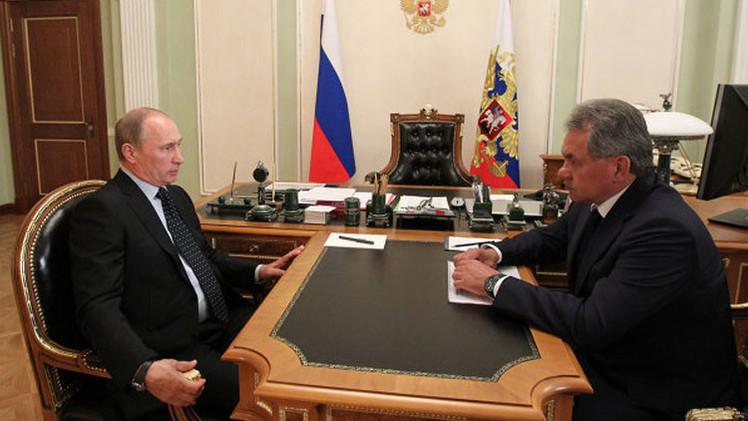 بوتين يقيم عاليا النتائج الأولية لعملية سلاح الجو الروسي في سوريا