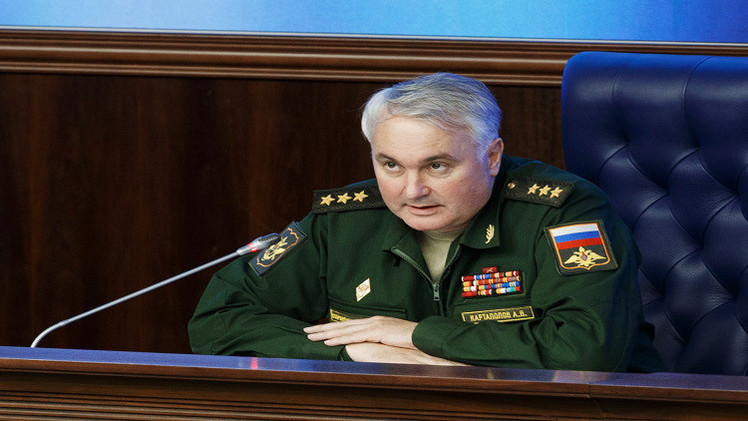 الأركان العامة الروسية: نعتمد على معطيات الاستخبارات السورية والعراقية والإيرانية في ضرب داعش