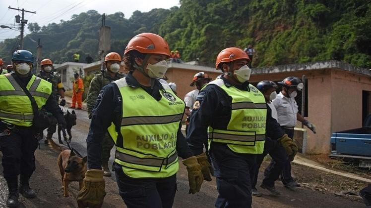 مئات القتلى والمفقودين في حادث انهيار أرضي بغواتيمالا