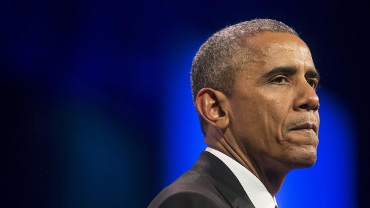 أوباما يندد باعتزام ترامب بناء جدار مع المكسيك في حال انتخابه رئيسا