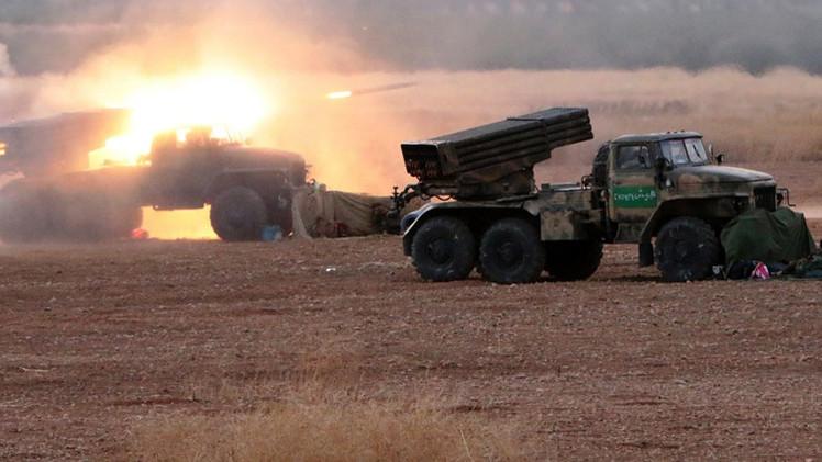 مصدر: تدمير مقر قيادة للإرهابيين بريف حماة ومقتل 5 قياديين