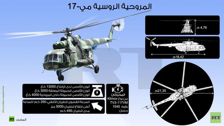 إنفوجرافيك: المروحية الروسية مي - 17