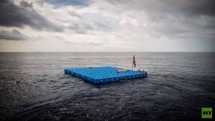بالصور.. محطات متطورة من النمسا وألمانيا لإنقاذ اللاجئين من الغرق
