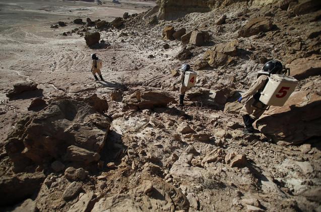 ناسا تصدر تقريرا مفصلا عن كيفية معيشة روادها على سطح المريخ